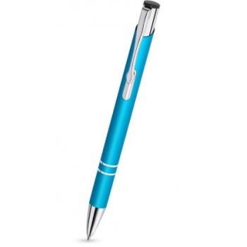 Długopisy do grawerowania laserem Cosmo C-14 kolor turkusowy