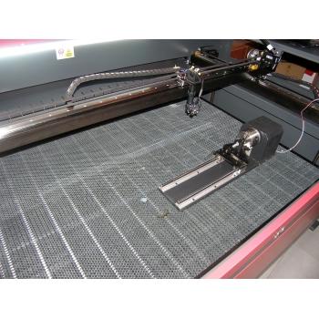 Ploter laserowy 150 W  do cięcia i grawerowania sklejki przystawka rotacyjna