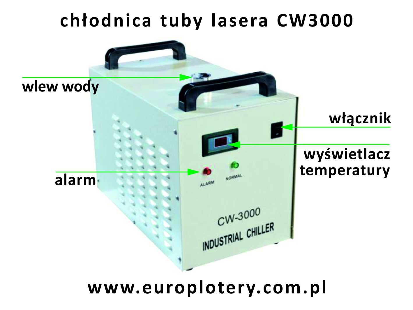chiller tuby lasera co2 CW 3000